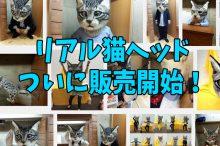 リアル猫ヘッド オーダーメイド 買える